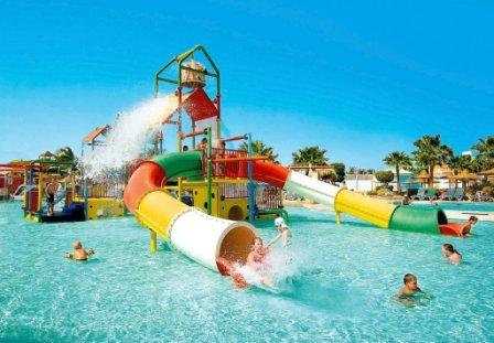 Розваги в аквапарку у Мармарисі